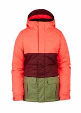 2017 NWT 686 YOUTH POLLY INSULATED JACKET ELECTRIC POPPY girls M Medium ox672