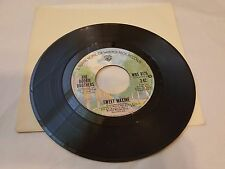 The Doobie Brothers 45 Record - Sweet Maxin / Double Dealin Four Flusher