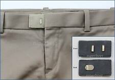 Grey Hook & Bar Waist Extender Closure Pants Shorts Trouser Line Widen Expander