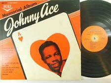 JOHNNY ACE / Memorial Album on Duke DLP 71 MONO from 1961 / DOO WOP / R & B