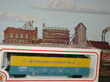 NETHERLANDS OVERSEAS MILLS ** 51' ALL DOOR Box Car ** OOP ** HO Scale Train*mint