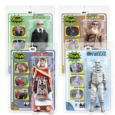 Batman 66 Classic TV Show Mego Style 8 Inch Figures Series 4: Set of all 4