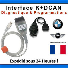 BMW USB - OBD K + DCAN Diagnostic * Jeu de câbles * UK GT1 Ediabas Inpa DIS SSS