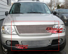 Fits Ford Explorer Billet Grille Combo Upper+Bumper 02-05