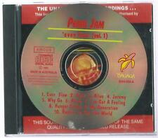 "PEARL JAM      ""Even Flow - Vol 1 ""  Live USA 92     Amcos 93 CD"
