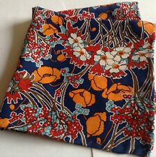 Bouquet Liberty of London silk pocket square