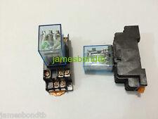 12V DC Coil Power Relay MY3NJ HH53P-L 11Pin 3NO 3NC 5A With PYF11A Socket Base