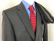 Jos A Bank Taupe Nailhead 2 Button Suit Mens 43R 38 X 30 Pleated Wool Vented
