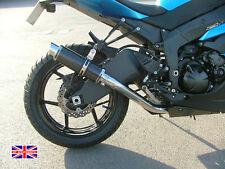 Kawasaki ZX6R 09-16 SP Engineering Carbon Fibre Stubby Moto GP Decat Exhaust