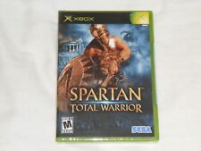 NEW Spartan Total Warrior XBox Game SEALED Sega sparten warior war US NTSC