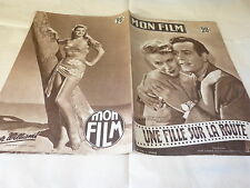 GUETARY & BERT - ESTHER WILLIAMS - Magazine vintage MON FILM n°314 !!!