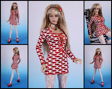☆ * ~ Kiss me ~ * JERSEY DRESS #1 for Jessica [giuramento iplehouse] ☆~ bjd doll