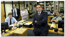"The Office TV Series Comedy Cast Steve Carell Movie 43x24"" Silk Fabric Poster 04"