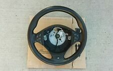 BMW E38 E39 M Tech Sport Leather Steering Wheel 740i 525i 540i w/ Switches