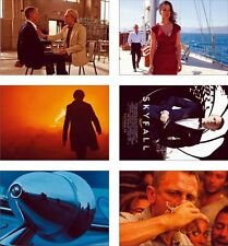 Skyfall James Bond Great New POSTCARD Set