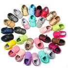New Fashion Baby Soft Sole Leather Shoes Toddler Infant Boy Girl Tassel Moccasin