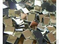 500 HANDCUT MOSAIC TILES GLASS SILVER MIRRORS 1/2""