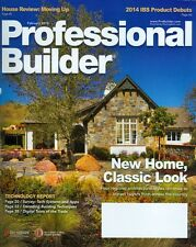 2014 Professional Builder Magazine: New Home Classic Look/Survey Tech Systems
