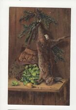 Hunting / Game Vintage Embossed Art Postcard A Gemmius Boecker 276a