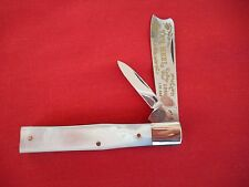 "FIGHT`N ROOSTER 2 BLADE ONE ARM KNIFE  PEARL HANDLES ""1 of 400"" KNIFE"