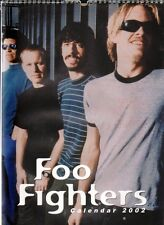 FOO FIGHTERS 2002 CALENDAR, NEW, BY ZINC 7  UNOFFICIAL DAVE GROHL