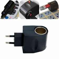 Voiture camion 220V wall power to 12V allume-cigare adaptateur convertisseur ue plug hot