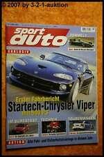 Sport Auto 2/00 Startech Viper Renault Clio Sport Alpin