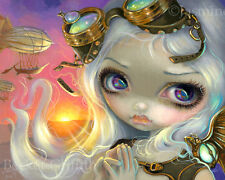 Jasmine Becket-Griffith art print steampunk fairy girl airship  SIGNED Windswept