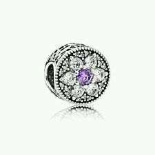 PANDORA Silver Forget Me Not Charm  - UK Seller/RRP. £55