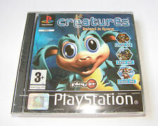 Creatures Raised in Space Playstation 1 PS1 Pal NEW Sealed