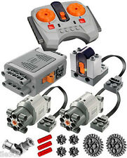Lego Power Functions SET 4-S  (technic,motor,receiver,remote,speed,joint,gear)