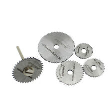 6pc HSS Mini Circular Saw blades Set for Wood Aluminum Cutting Disc for Dremel