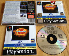 DIE HARD TRILOGY for SONY PS1, PS2 & PS3 COMPLETE