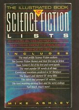 MIKE ASHLEY ed. THE ILLUSTRATED BOOK OF SCIENCE FICTION LISTS. SF facts. 1st US