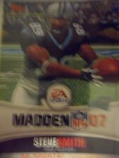 Steve Smith 2008 Topps Madden 07 Carolina Panthers