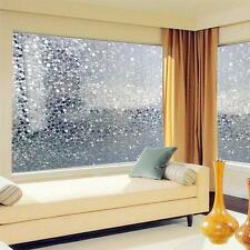 Cobblestone Shaped Glass Sticker Bathroom Door Window Glass Film 45x100cm
