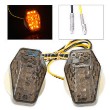 Motocycle Custom Smoke Turn Signal LED Light Indicator Replace Part Fit Suzuki