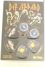 Def Leppard Officially Licensed Guitar Hot Picks 6 Pack Collectable Perri's #1