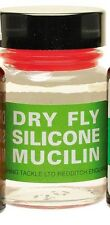 Fly Fishing: Liquid  Silicone Mucilin Dry Fly  Hour-Glass bottle