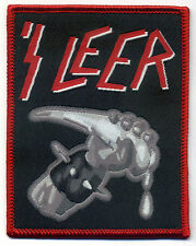 'S LEER Woven Patch gewebter Aufnäher ♫ Slayer ♫ Parodie ♫ Fun ♫ Thrash Metal ♫