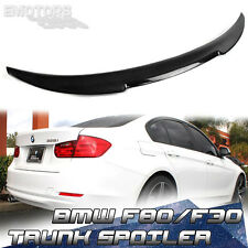 2015up NEW Carbon BMW 3 Series F80 F30 V Style Rear Trunk Spoiler 330d 328i M3