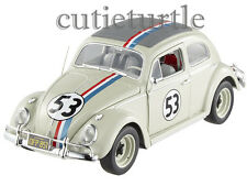 Hot Wheels Elite Disney The Love Bug Herbie #53 VW Volkswagen Beetle 1:18 BCJ94