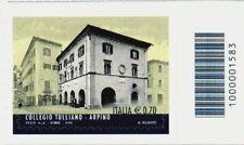 1583 CODICE A BARRE LATO DI  SOTTO COLLEGIO TULLIANO 0,70 ANNO 2014