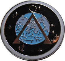 Stargate SG-1 Project Earth Logo Symbol Enamel Metal Pin