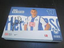 48834 Änis Ben-Hatira Hertha BSC 2011-2012 original signierte Autogrammkarte