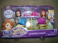 Disney Princess Royal Tea Party Sofia & Amber New
