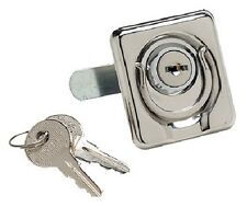 Boat Door Latch, Locking Lift Ring, Marine  35511