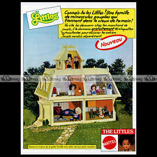 THE LITTLES Mattel Maison Poupée Doll House 1981: Pub Publicité Advert Ad #A1390