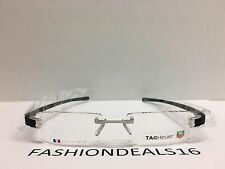 New Tag Heuer w/TAGS 7103 Track Black TH7103 001 53mm Optical Eyeglasses