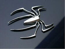Car Truck SUV Exterior Window Windshield 3D Spider Logo Decorative Decal Sticker